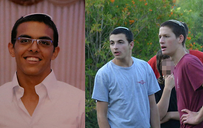 Eyal Yifrach, 19, Gil-Ad Shaer, 16, and Naftali Frenkel, 16. Murdered by Palestinian terrorists