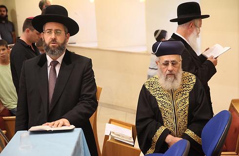 הרבנים הראשיים בטלמון        (צילום: מוטי קמחי) (צילום: מוטי קמחי)