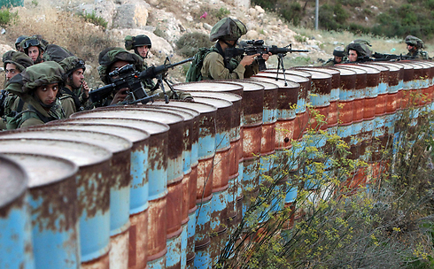 IDF forces in the West Bank (Photo: AFP) (Photo: AFP)