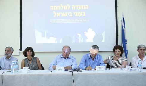 חברי הוועדה, היום (צילום: ירון ברנר) (צילום: ירון ברנר)