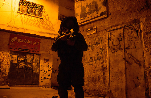 An Israeli soldier in Jenin during Operation Brother's Keeper last year. (Photo: IDF Spokesperson) (Photo: IDF Spokesperson)