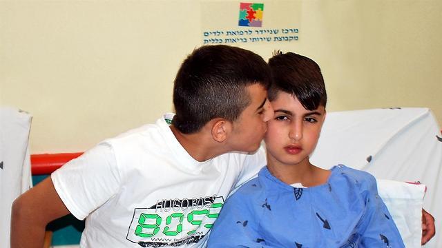 האחים לבית שנאן. קיבלו לב חדש (צילום: באדיבות מרכז רפואי שניידר) (צילום: באדיבות מרכז רפואי שניידר)