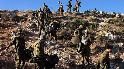 IDF searches continue focusing mostly on open areas. (Photo: EPA) (Photo: EPA)
