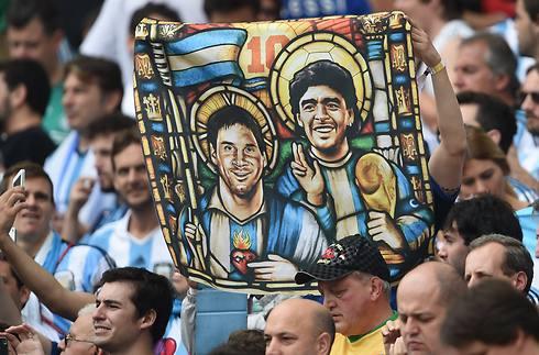 הכי קדושים בארגנטינה (צילום: AFP) (צילום: AFP)
