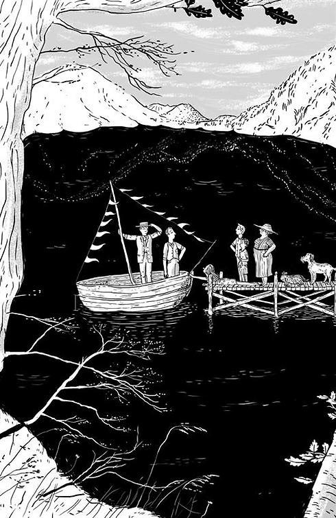 חוויות שנאספו במסעות הפכו לדרך חיים (איור: עינת צרפתי) (מתוך הספר)