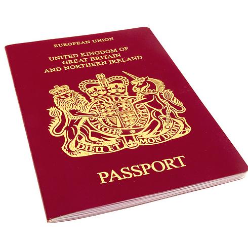 הדרכון הבריטי. קצת פחות חזק מבעבר (צילום: shutterstock)