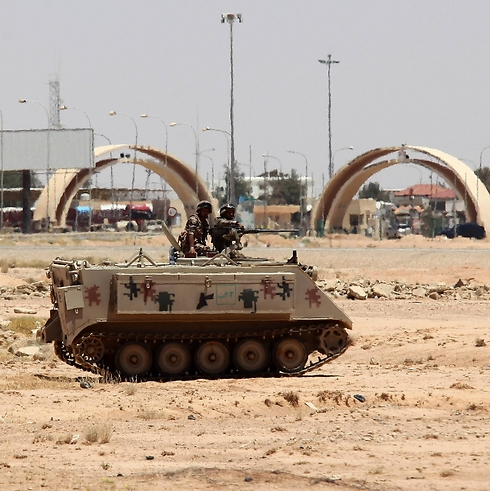 Military presence on the Iraq-Jordan border (Photo: AFP)