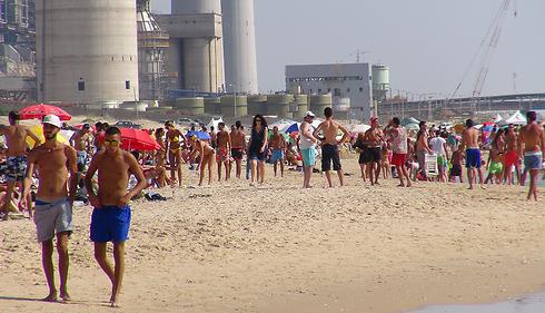 Sdot Yam beach. (Photo: George Ginsberg)