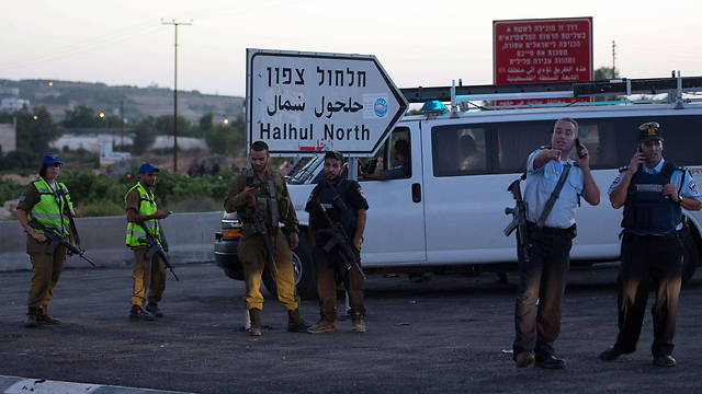 Will Israel pull out of the West Bank by 2016? Israeli security forces in the Hebron area (Photo: AFP)