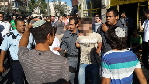 Arrests in Jerusalem (Photo: Noam 'Dabul' Dvir)