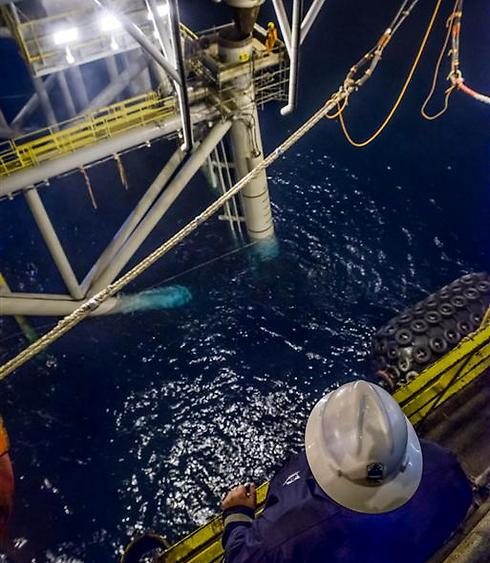 Tamar gas field (Photo: Albatros / Nobel Energy)