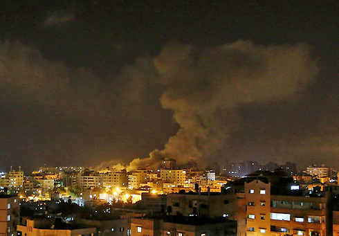 IAF attacks in Gaza (Photo: AP)