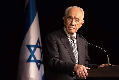 President Shimon Peres. (Photo: AFP) (Photo: AFP)