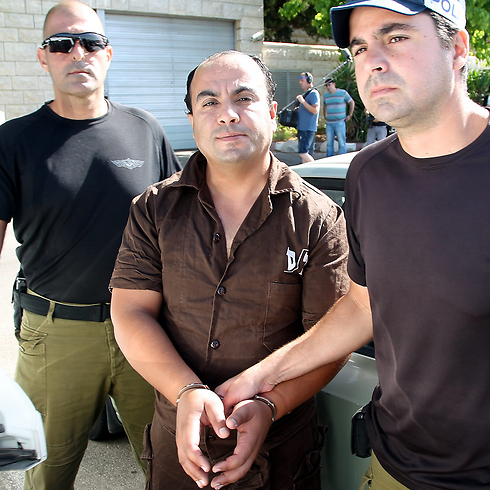 Shelly Dadon's killer, Hussein Yousef Khalifa (Photo: Gil Nehushtan)