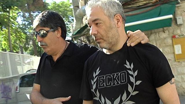 פישר היום ליד בית המשפט (צילום: חדשות ערוץ 2) (צילום: חדשות ערוץ 2)
