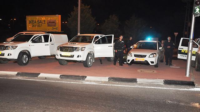 היערכות המשטרה למהומות בנצרת ()