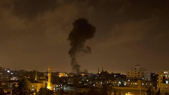 תקיפה בעזה היום             (צילום: AFP) (צילום: AFP)