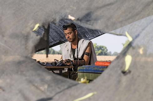 תפילת הדרך לעזה? (צילום: AFP) (צילום: AFP)