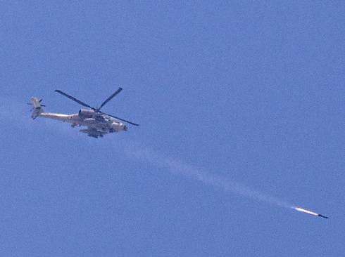 IAF attack Gaza (Photo: AFP)