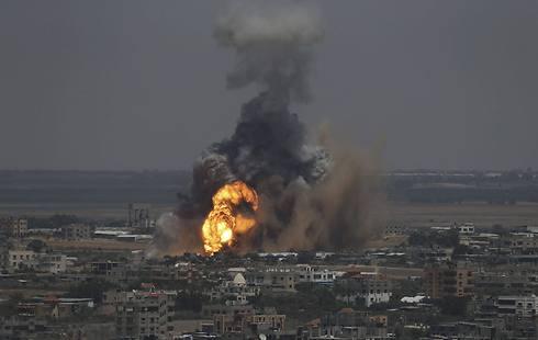 IAF attack on Rafah