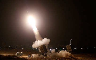 Iron Dome launches interceptor rocket in Ashdod (Photo: Reuters)
