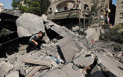 House destroyed by IAF airstrikes on Gaza (Photo: Reuters)