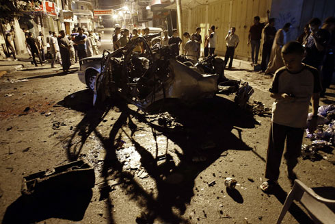 Attack in Gaza (Photo: AFP)