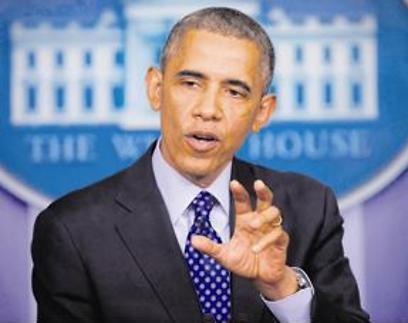 אמר שהמהלך נגד דאעש יהיה ארוך טווח. אובמה (צילום: AP) (צילום: AP)