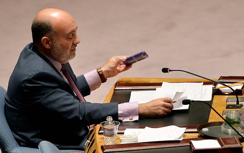 """שגריר ישראל באו""""ם רון פרושאור (צילום: EPA) (צילום: EPA)"""