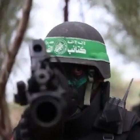 מתוך סרטון תעמולה של חמאס      ()