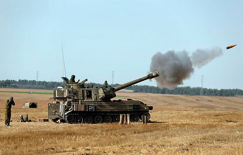 IDF activity on the Gaza border (Photo: AP)