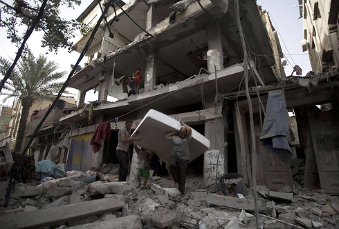 Destruction caused to building in Gaza (Photo: AFP)