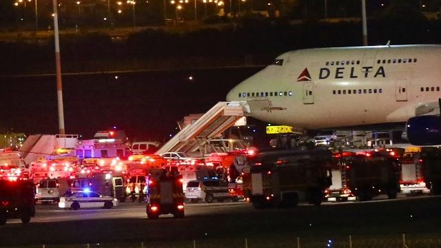 Emergency landing at Ben Gurion airport (Photo: Motti Kimchi)