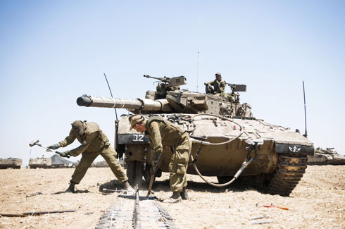 IDF tank crew (Photo: IDF Spokesperson's Unit)