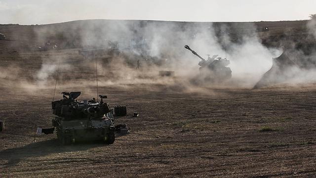 שבוע למבצע בגבול עזה (צילום: גטי אימג') (צילום: גטי אימג')