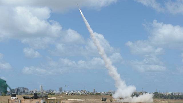 Iron Dome in action during Protective Edge. Israel may get another battery. (Photo: Avi Rokach)
