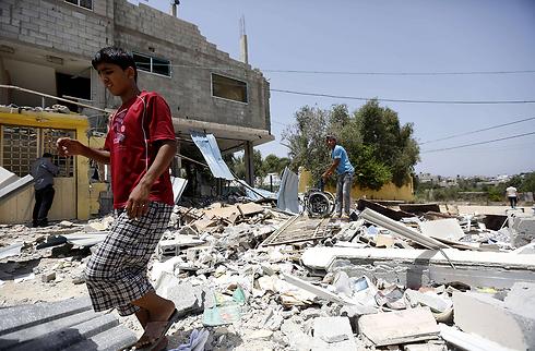 הרס בעזה (צילום: AFP) (צילום: AFP)