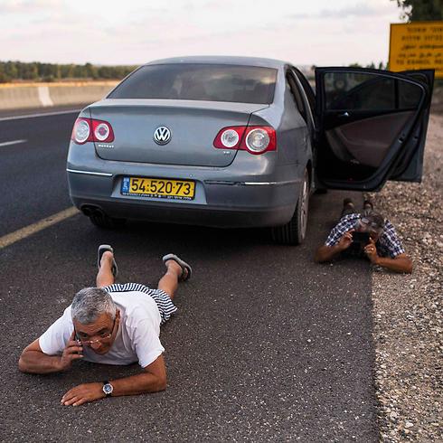"""""""גם מבוגרים מתקשים להתמודד"""". צוק איתן בעוטף עזה (צילום: רויטרס) (צילום: רויטרס)"""