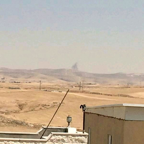 לקיה בעת מבצע צוק איתן (צילום: סולימאן אבו גררה) (צילום: סולימאן אבו גררה)