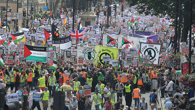 Protests in London (Photo: MCT)