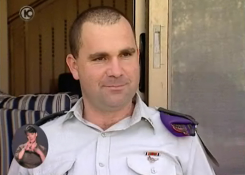 """סא""""ל קידר. הקצין הבכיר ביותר שנהרג (צילום: ערוץ 10) (צילום: ערוץ 10)"""