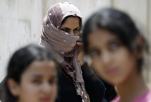 Over 100,000 Gazans displaced (Photo: AFP)