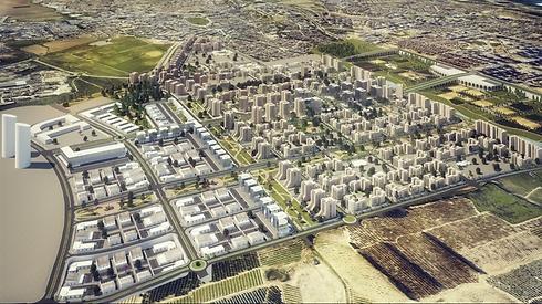 (הדמיה: ארמון אדריכלים ומתכנני ערים) (הדמיה: ארמון אדריכלים ומתכנני ערים)