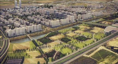 הדמיות התוכנית החדשה. קרוב ל-10,000 יחידות דיור (הדמיה: ארמון אדריכלים ומתכנני ערים) (הדמיה: ארמון אדריכלים ומתכנני ערים)