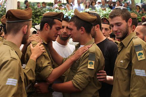 Funeral for Max Steinberg (Photo: Gil Yohanan) (Photo: Gil Yohanan)