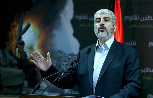Hamas leader Khaled Mashal (AFP) (Photo: AFP)