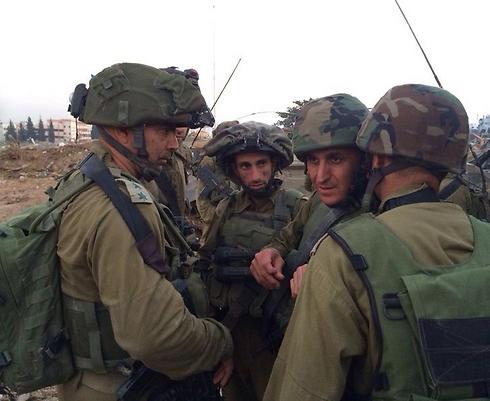 """מפקד על הלחימה בשטח (צילום: דובר צה""""ל)"""