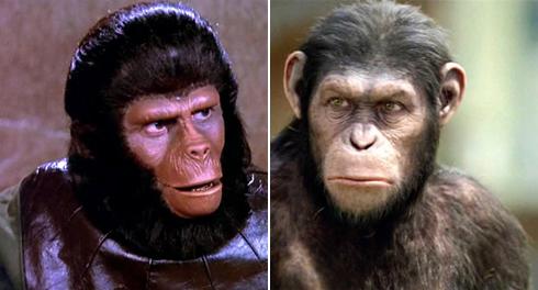 """קוף-אדם או אדם-קוף. """"כוכב הקופים"""" היום ואז ()"""
