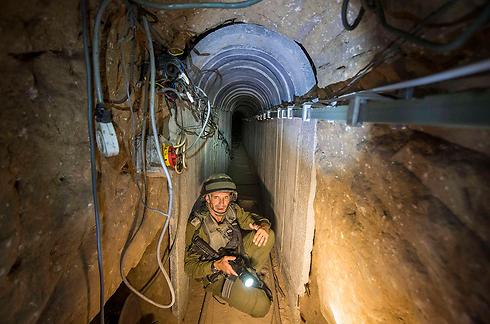 הפעולות נגד המנהרות יימשכו (צילום: רויטרס) (צילום: רויטרס)
