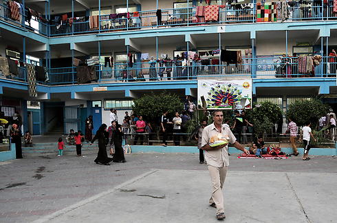 UNRWA School in Gaza (Photo: AP)